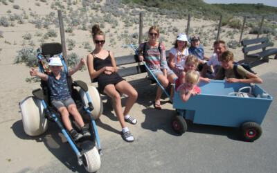 Een heerlijke schoolreis aan het strand bij Avavieren
